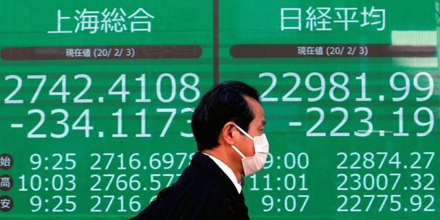 איך תשפיע הקורונה על הבורסות, צילום: רויטרס
