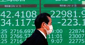 קורונה מניות בורסה סין, צילום: רויטרס