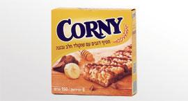 חטיף דגנים קורני corny