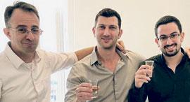 מימין:   מור זלוף עידו וולף ו אבי זלוף, צילום: עידו וולף