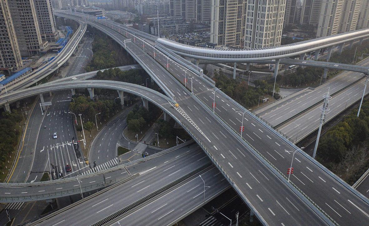 מדינת רפאים: תמונות מרחובות ריקים ברחבי סין בעקבות בהלת הקורונה 2PC