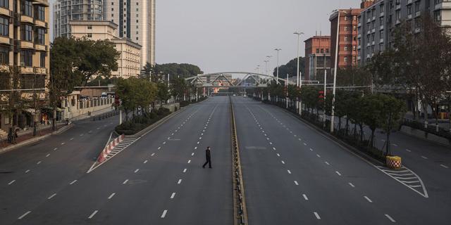 מדינת רפאים: תמונות מרחובות ריקים ברחבי סין בעקבות בהלת הקורונה