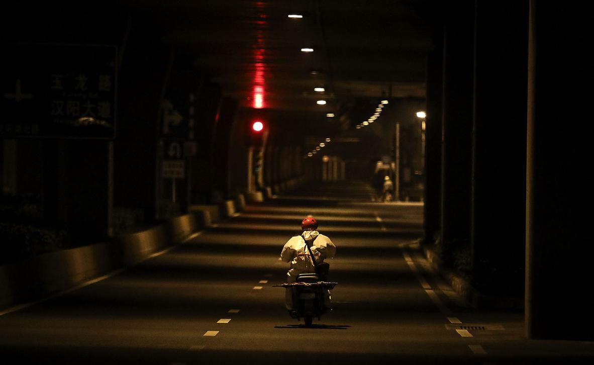 מדינת רפאים: תמונות מרחובות ריקים ברחבי סין בעקבות בהלת הקורונה 9PC