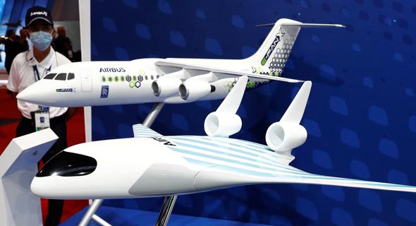 איירבוס מטוס העתיד, צילום: Edgar Su