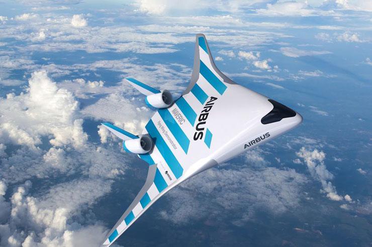 המטוס העתידי - Maverick, צילום: Airbus