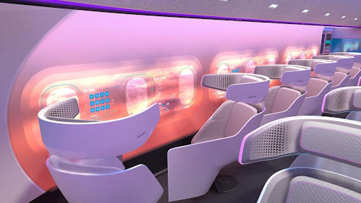 מטוס המאווריק מבפנים, צילום: Airbus