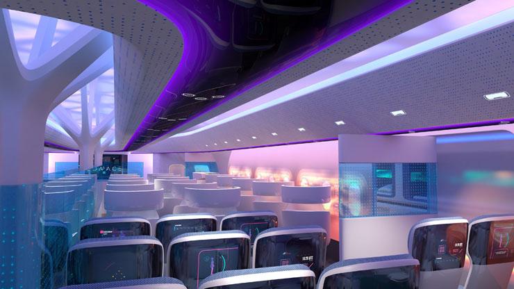 מטוס המאווריק. מבט מבפנים, צילום: Airbus