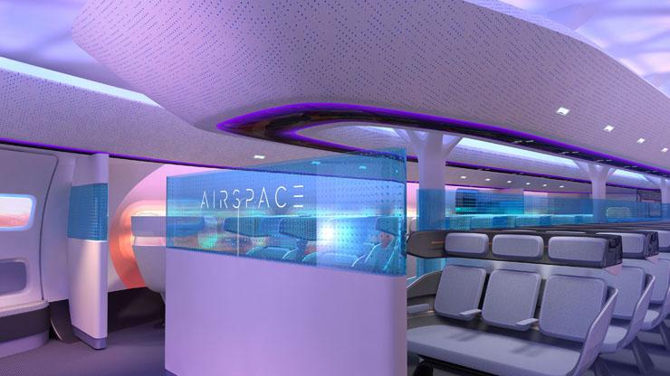 מבט מבפנים, צילום: Airbus