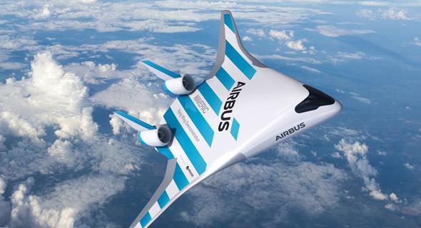מטוס עתידי מאווריק מווריק Maverick איירבוס , צילום: Airbus