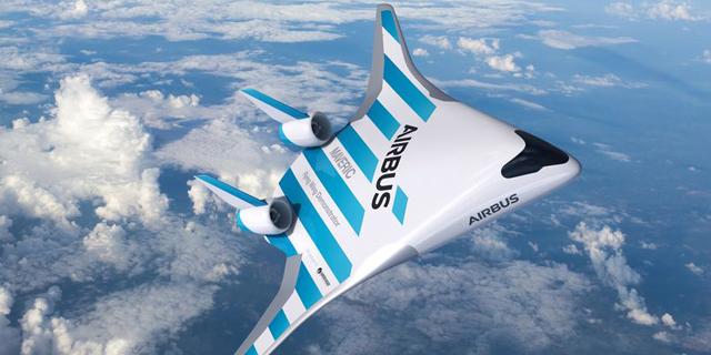 """איירבוס הציגה את מטוס העתיד - """"ידידותי לסביבה"""""""