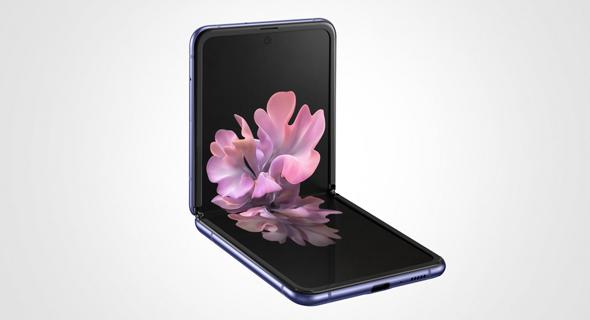 גלקסי Flip Z פליפ סמסונג היברידי סמארטפון, צילום: סמסונג