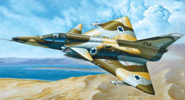 הקברניט כפיר התעשייה האווירית מטוס קרב , צילום: Italeri