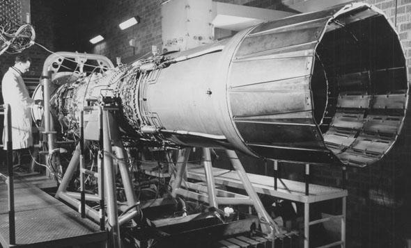 מנוע ה-J79 של הפאנטום