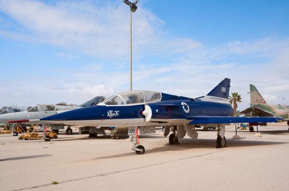 מטוס הטכנולוג במוזיאון חיל האוויר
