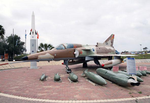 כפיר C7 במוזיאון חיל האוויר
