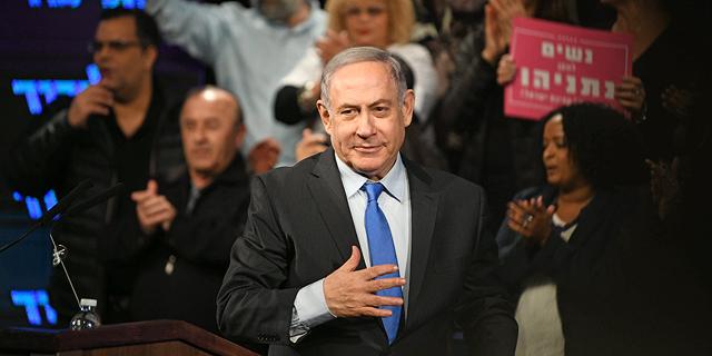 """בנימין נתניהו. סדר היום """"נתניהו כן או לא"""" דווקא הצליח להביא את הישראלים אל הקלפי בסיבוב השני , צילום: יאיר שגיא"""