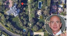 ג'ף בזוס קנה אחוזה אחוזת וורנר לוס אנג'לס , צילום: google