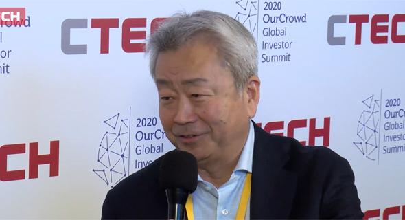 NTT President and CEO Jun Sawada. Photo: liveforu