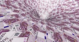 שטר 500 יורו אירופה מטבע, צילום: גטי אימג'ס