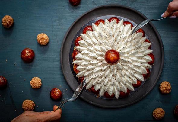 עוגת סנט הונורה של קובי ויצחקי