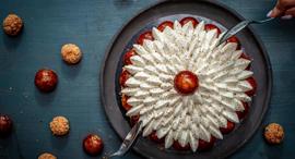 פנאי עוגת תותים וייניל פטיסרי, צילום: גיל אבירם