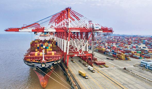 נמל שנגחאי