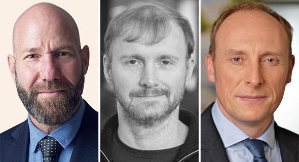 Daniel Bern (left), Lukasz Gadowsk, and Andrew Wallis. Photo: PR