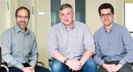מימין: מייסדי קרן More: ג'ק לוי, מאיר יוקליס וגלן שוואבר, צילום: דנה קופל