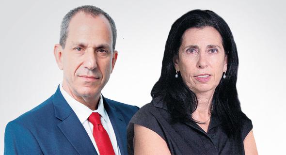 מימין דורית סלינגר שמואל האוזר  , צילום: עמית שעל