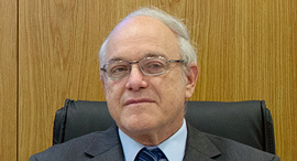 השופט ניל הנדל ועדת הבחירות המרכזית לכנסת העשרים ושלוש, צילום: עמית שאבי