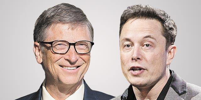 גייטס בעקיצה למאסק: אם אתה לא האדם העשיר בעולם, לא כדאי שתקנה ביטקוין