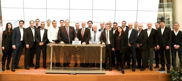 פורום שוק ההון של DUN'S 100 בהשתתפות בכירי הענף