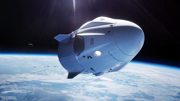 חברת SpaceX תטיס תיירים לחלל ב-2021