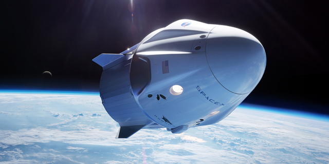 A SpaceX Dragon rocket docks with the International Space Station (illustration). Photo: SpaceX
