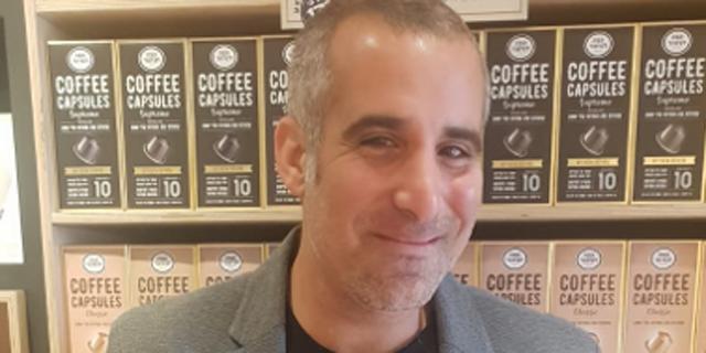 """יוני פדרמן, משנה למנכ""""ל קפה לנדוור, קרדיט:  אבי לוי"""