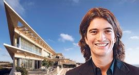 """אדם נוימן ובניין הדירות בארסוף, צילומים: יח""""צ, עמית גרון וגוטסמן שמלדמן אדריכלות"""