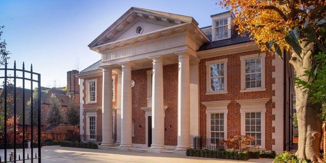 הבית היקר ביותר בלונדון מוצע למכירה; שלכם ב-97 מיליון דולר