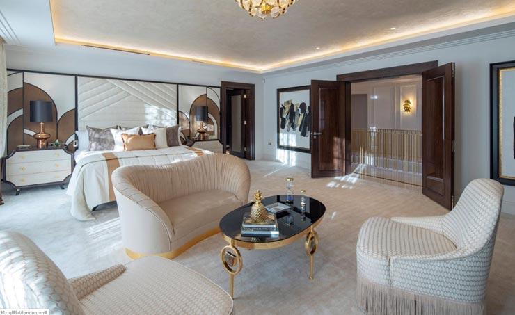 אחד מעשרת חדרי השינה, צילום: Sotheby
