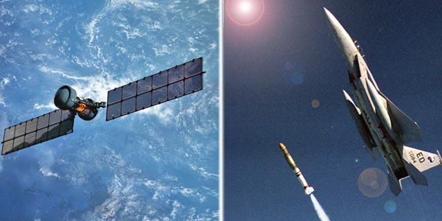 הקברניט לוויינים טילים יירוט המלחמה הקרה, צילום: USAF