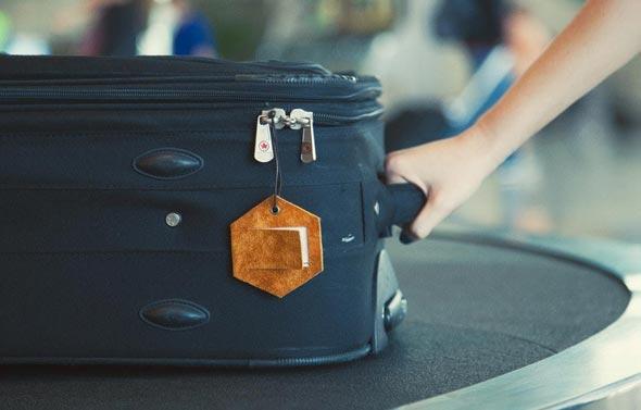 תגית מזוודה