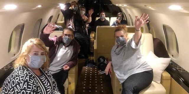 """בטיסה ישירה מיפן: """"מטוס הקורונה"""" המריא לישראל"""
