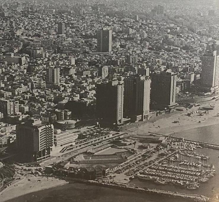 מתחם המרינה, כיכר אתרים ובתי המלון - תוכנן על ידי האדריכל האיטלקי המפורסם לואיג