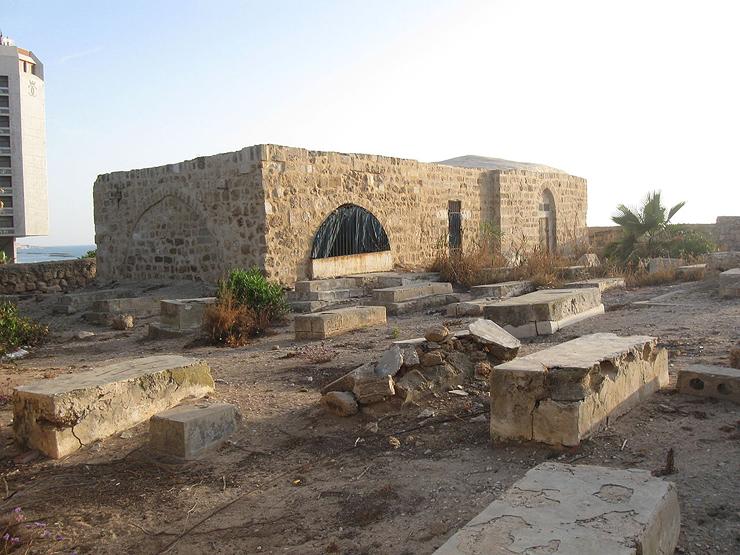 הזיכרון האחרון לבית העלמין של הכפר סומייל, צילום: כתב העת ארכיטקטורה 1985