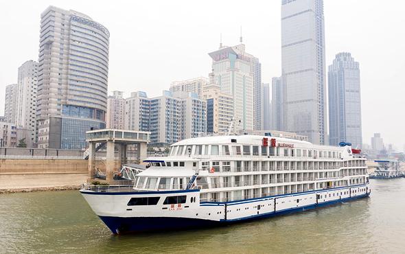 קורונה סין ספינה אוניה בלו וויל נשלחה ל ווהאן ותשמש למגורים של אנשי רפואה, צילום: גטי אימג'ס