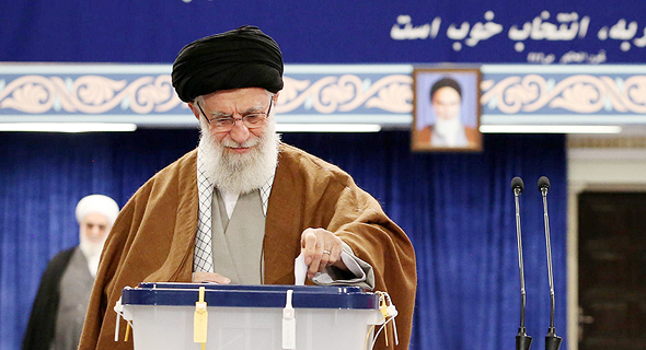 המנהיג העליון של איראן עלי חמינאי, צילום: אי פי איי
