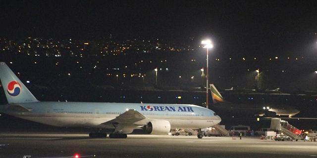 """חברת קוריאן אייר תשבית את הטיסות בקו סיאול-ת""""א עד ה-29 במרץ"""