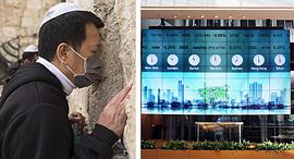 בורסת תל אביב, צילום: עמית שעל, גטי אימג'ס