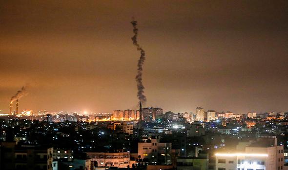 שיגור רקטות מעזה לעבר ישראל