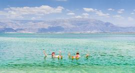 פוטו המקומות הנמוכים ביותר בעולם ים המלח, צילום: שאטרסטוק