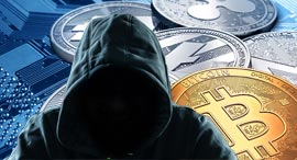 Bitcoin ransomware attack. Photo: Shutterstock